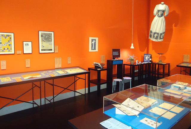 Ausstellungsraum der Begleitausstellung