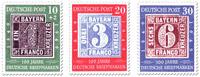 Satz 100 Jahre deutsche Briefmarken