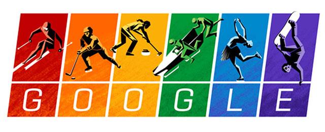 Olympische Charta - das Doodle zur Eröffnung der Winterspiele in Sotschi